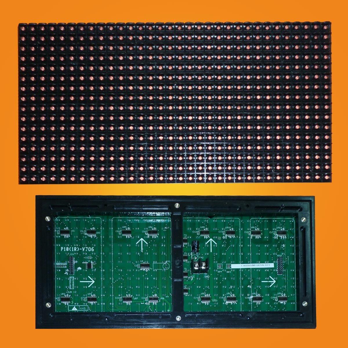 Led модуль красный P10 32*16 RED для наружного применения (outdoor).
