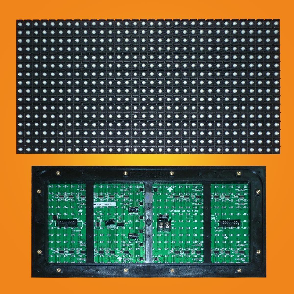 Led модуль полноцветный три в одном P10 32*16 RGB SMD для наружного применения (outdoor).
