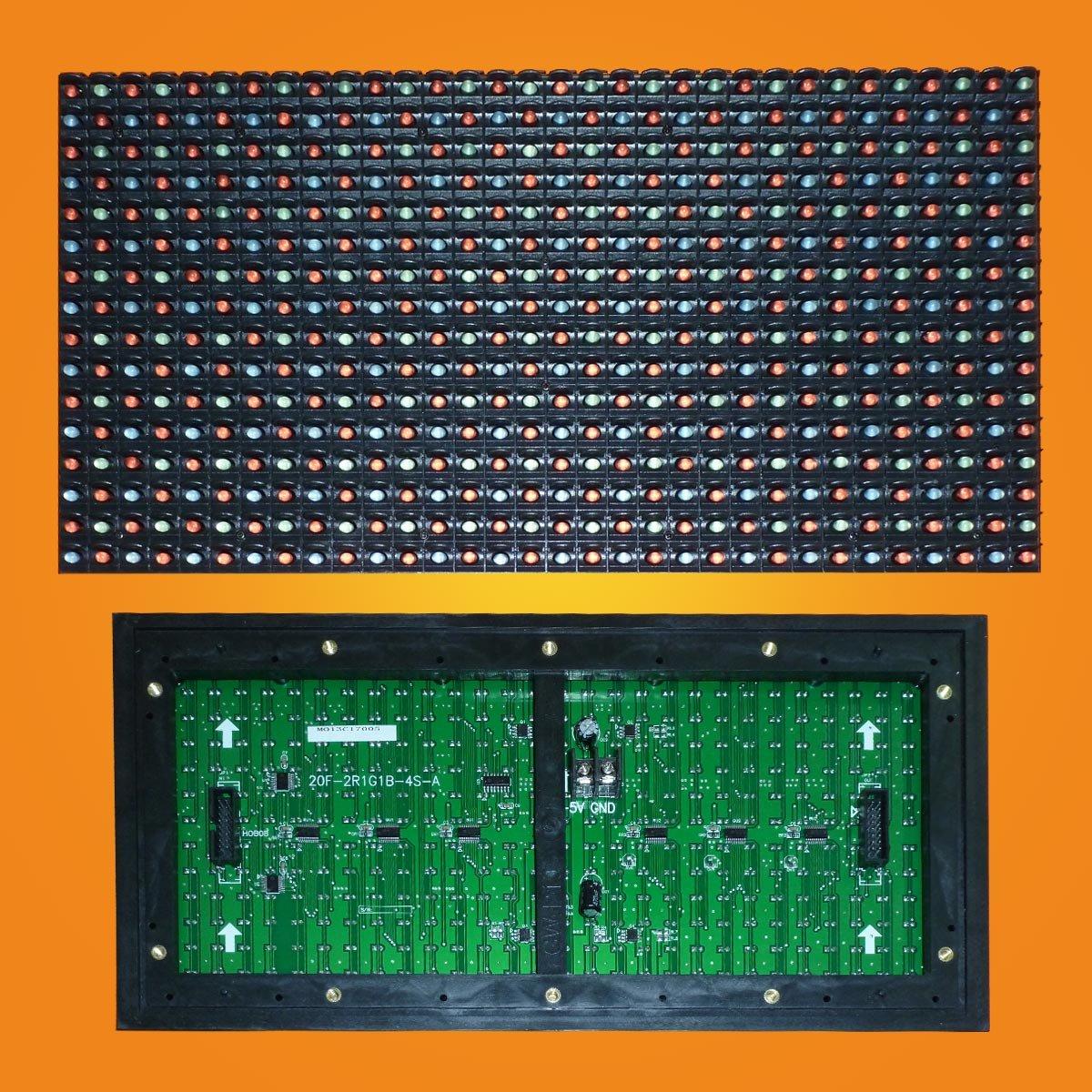 Led модуль полноцветный P20 (M10) 16*8 2R1G1B для наружного применения (outdoor).