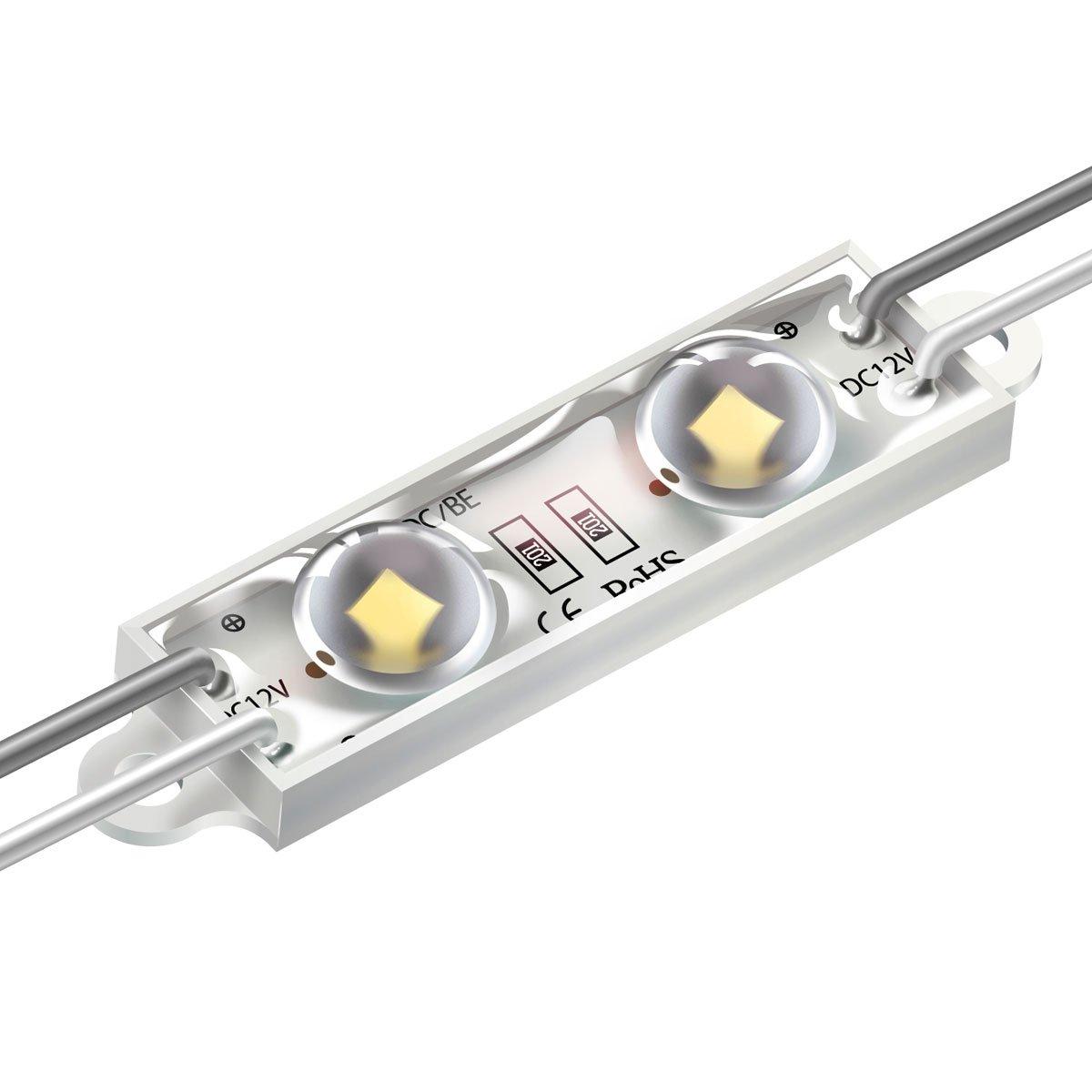 Светодиодный модуль MT106T-W SMD2835 Lens  белый