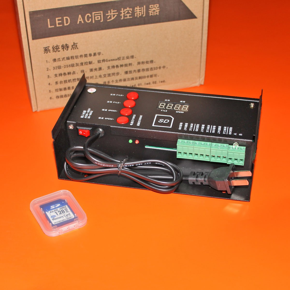 Контроллер для IC светодиодных модулей RGB C1000s (2048px)