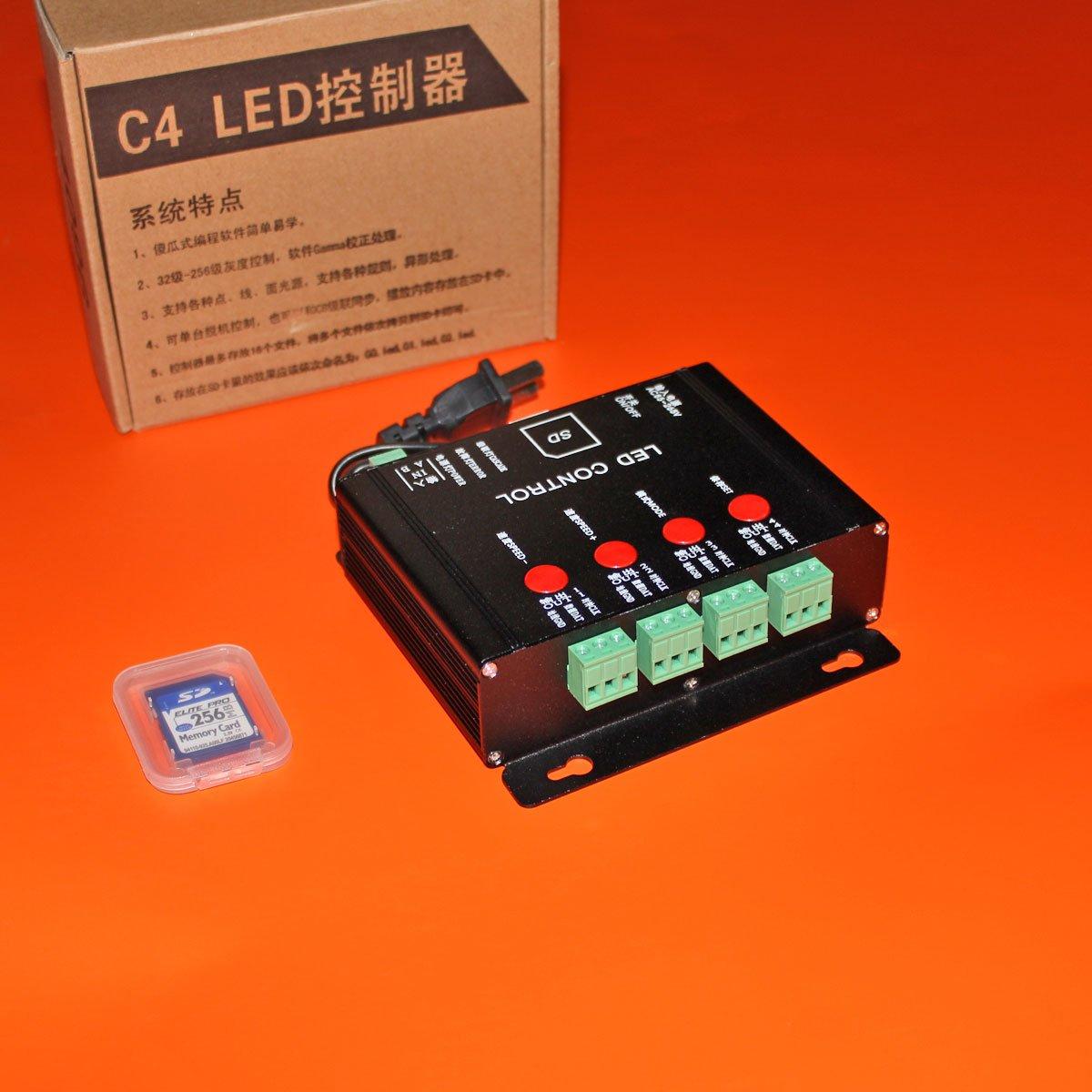 Контроллер для IC светодиодных модулей RGB C4 (4096px)