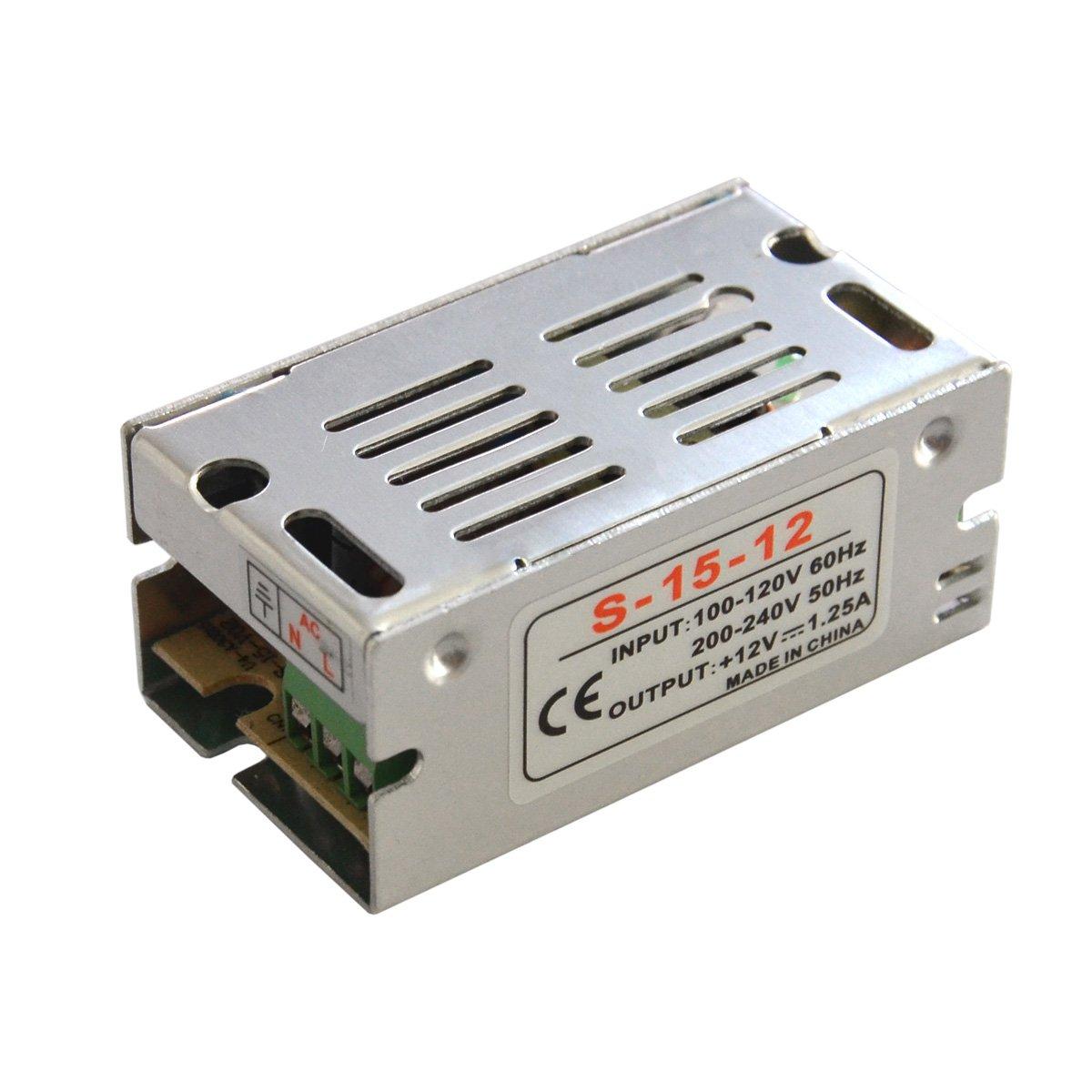 Блок питания SW IP20 сетка 12V, 15W