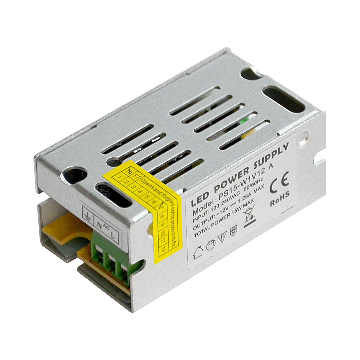 Блок питания LW IP20 сетка 12V, 15W