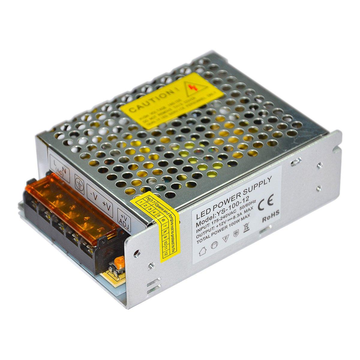 Блок питания LW IP20 сетка 12V, 100W.